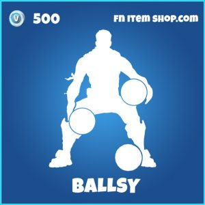 Ballsy rare fortnite emote