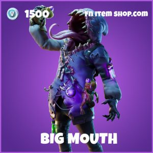 Big Mouth Epic fortnite skin