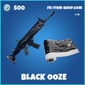 Black Ooze rare fortnite skin