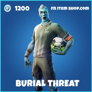 Burial Threat rare fortnite skin
