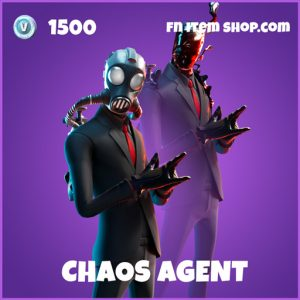 Chaos Agent epic fortnite skin
