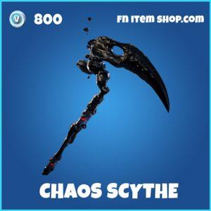 Chaos Scythe rare fortnite pickaxe