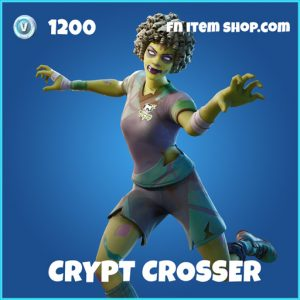Crypt Crosser rare fortnite skin