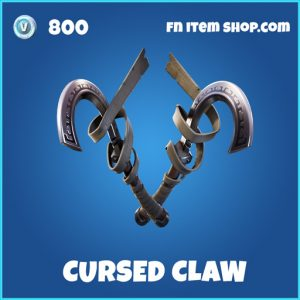 Cursed claw rare fortnite pickaxe