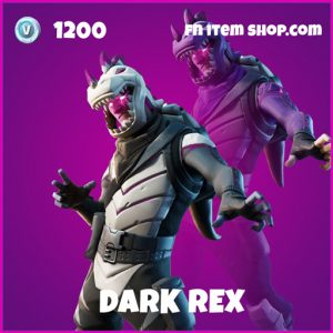 Dark Rex rare fortnite skin
