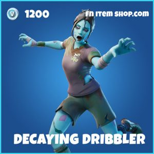 Decaying Dribbler rare fortnite skin
