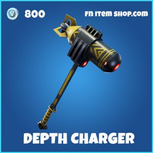Depth Charger rare fortnite pickaxe