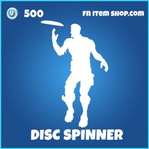 Disc Spinner rare fortnite emote