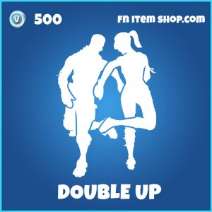 Double Up rare fortnite emote