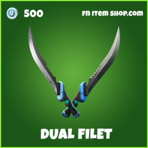 Dual Filet uncommon fortnite pickaxe