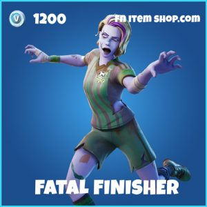 Fatal Finisher rare fortnite skin
