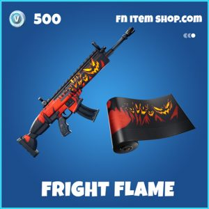 Fright Flame rare fortnite wrap