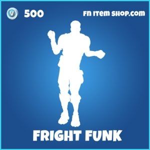 Fright Funk rare fortnite emote