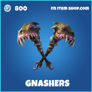 Gnashers rare fortnite pickaxe