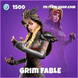 Grim Fable epic fortnite skin