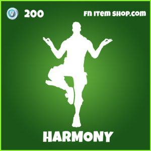Harmony fortnite emote uncommon