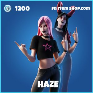 Haze rare fortnite skin
