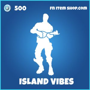 Island Vibes rare fortnite emote