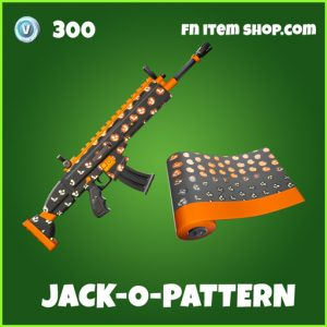 Jack-O-Pattern uncommon fortnite wrap