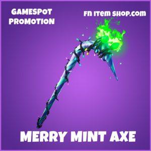 Merry Mint axe