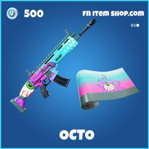 Octo rare fortnite wrap