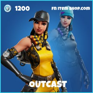 Outcast rare fortnite skin