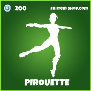 Pirouette uncommon fortnite emote