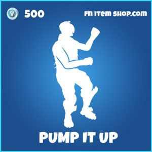 Pump it up rare fortnite emote