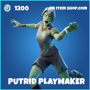 Putrid Playmaker rare fortnite skin