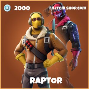 raptor legendary skin fortnite