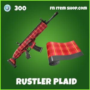 Rustler Plaid uncommon fortnite wrap