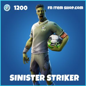 Sinister Striker rare fortnite skin