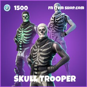 Skull trooper epic fortnite skin