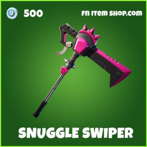 Snuggle Swiper uncommon fortnite pickaxe