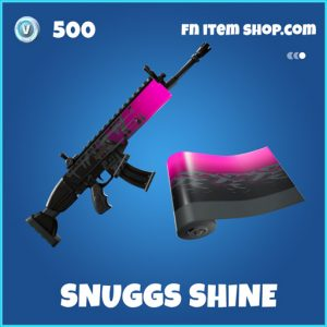 Snuggs Shine rare fortnite wrap