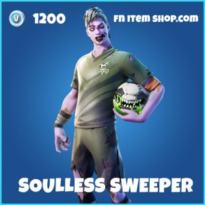 Soulless Sweeper rare fortnite skin