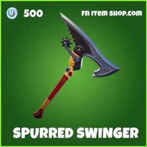Spurred Swinger uncommon fortnite pickaxe