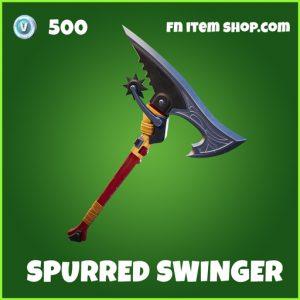Spurred Swinger uncommon fortnite pickaxe