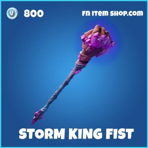 Storm King Fist rare fortnite pickaxe