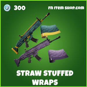 Straw Stuffed Wraps