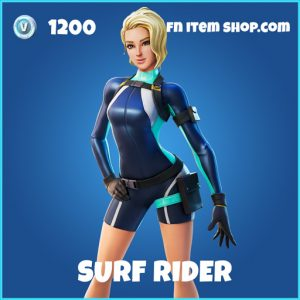 Surf Rider rare fortnite skin