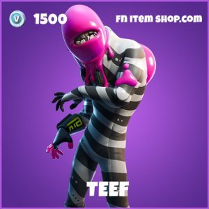 Teef epic fortnite skin