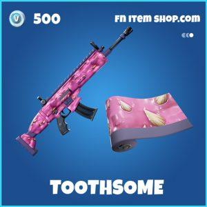 Toothsome rare fortnite wrap