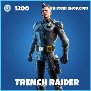 Trench Raider rare fortnite skin