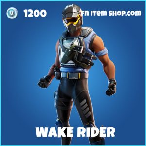 Wake Rider rare fortnite skin