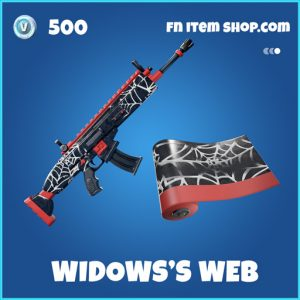 Widows Widow's Web rare fortnite wrap