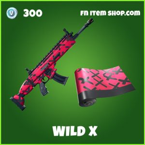 Wild X uncommon fortnite wrap