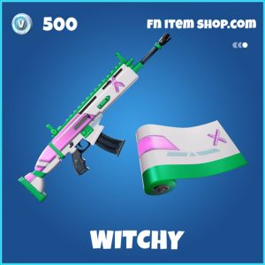 Witchy rare fortnite wrap
