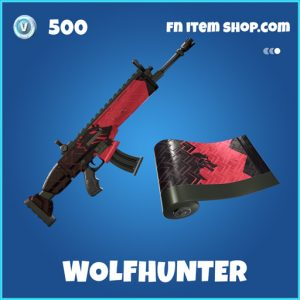 Wolfhunter rare fortnite wrap