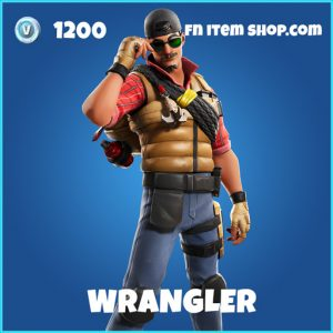 Wrangler rare fortnite skin